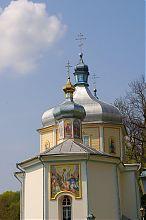 Апсида Свято-Вознесенского храма Вишневца