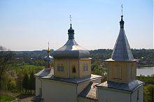 Купола вишневецкого Свято-Вознесенского храма