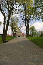 Центральная аллея замкового парка на Замковой горе Збаража
