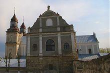 Колокольня бернардинского монастыря в Збараже