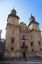 Костел монастыря бернардинцев в Збараже
