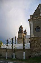 Правая (северная) башня збаражского храма святого Антония