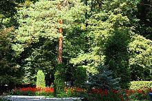 Партер парка дворца княгини Щербатовой в Немирове