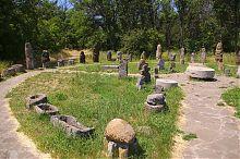 Лапідарій музею Скіфський стан Національного заповідника Хортиця