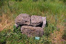 Похоронний ящик XIХ - XVII ст. до н.е. (оригінал). Експонат Скіфського Стану