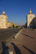 Запорожские башни-близнецы на проспекте Ленина
