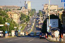Проспект Леніна в Запоріжжі