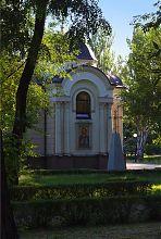 Юго-восточный фасад запорожской церкви святой равноапостольной княгини Ольги
