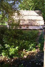 """Хата-мазанка музею """"700-річний запорізький дуб"""""""