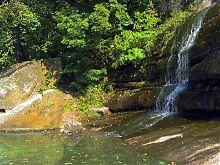 Большой водопад в уманской Софиевке