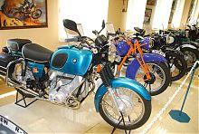 Часть коллекции мотоциклов музея техники Мотор Сич (Богуслаева) в Запорожье