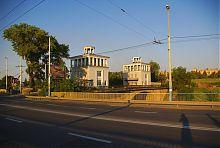 Пункт управління Старим шлюзом на Дніпрі в Запоріжжі