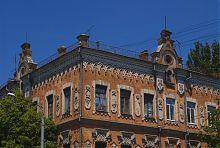 Верхний этаж бывшего доходного дома Якова Лещинского