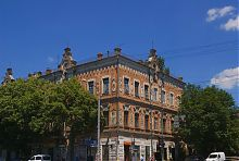 Угол Соборной и Троицкой Александровка-Запорожья