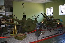 """Военный зал в музее """"Фаэтон"""""""