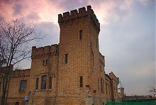 Угловая башня северо-восточного флигеля замка Поповых в Васильевке