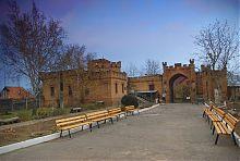 Внутренний двор Васильевского дворца Поповых