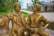 Бердянский памятник Дети лейтенанта Шмидта