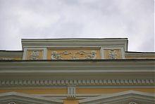 """Аттик северного фасада бывшего бердянского отеля """"Метрополь"""""""