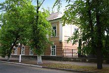 Центральний фасад будинку-музею Шмідтів в Бердянську