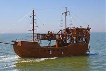 Прогулянковий корабель Бердянської гавані
