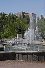 Фонтан в парку А.С. Пушкіна Бердянська