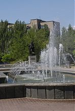 Фонтан в парке А.С. Пушкина Бердянска