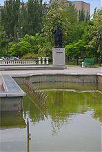 Бердянский сквер им. А.С. Пушкина