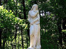 Скульптура Одіссея в уманській Софіївці