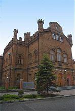 Центральний корпус чоловічої гімназії в Бердянську