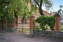 Північно-західний фасад колишньої бердянської чоловічої гімназії