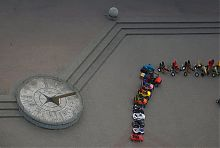 Сонячний годинник на вул.Горького (набережна) в Бердянську