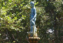 "Фигура девы бердянского фонтана ""Купидон"""