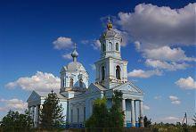 Свято-Преображенская (бывшая Рождества Богородицы) церковь в Конских Раздорах