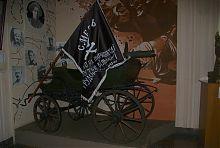 Тачанка гражданской войны музея в Гуляйполе