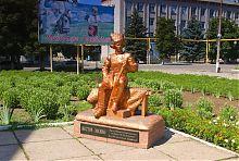 Гуляйпольский памятник Нестору Махно