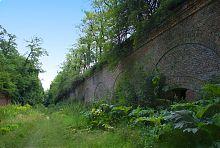 Первый оборонный коридор крепости в Тараканове