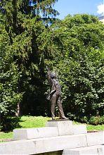 Памятник Вячеславу Черноволу во Львове