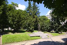 Памятник первому демократически избранному главе Львовского областного совета В. Черноволу