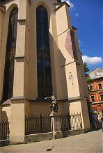 Бічний фасад львівського Латинського кафедрального собору