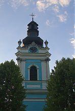 Купол колокольни костела Святого Духа во Львове