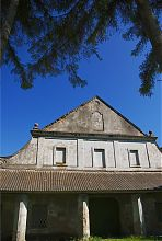 Центральний фасад заїзду в Підгірцях