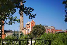 Центральна будівля спиртзаводу Терещенко