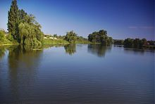 Ставок винокурні на річці Гуйва