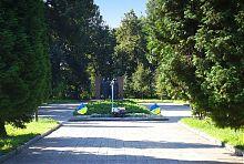 Алея Слави в парку Терещенко Андрушівки