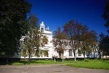 Восточный фасад дворца Терещенко в Андрушевке