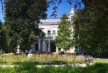 Центральний вхід палацу Терещенко в Андрушівці
