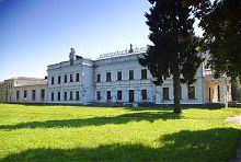 Західний фасад Андрушівського палацу