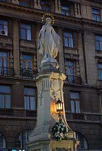 Львовский памятник-образ Девы Марии