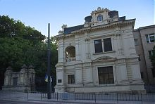 Центральний фасад львівської палацу Сапегів